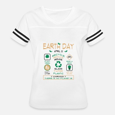 Reduce Earth Day Tips T-Shirt - Women's Vintage Sport T-Shirt