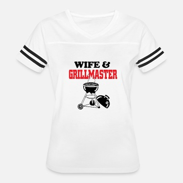 Master Of Grill Grill master - wife and grill master - Women's Vintage Sport T-Shirt