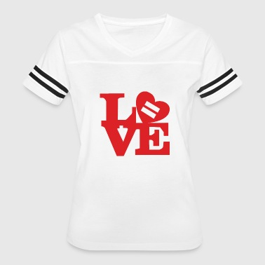 Equality Love - Women's Vintage Sport T-Shirt