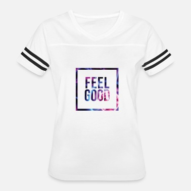 You Say Weirdo Feel Good Minimal Statement Shirt Abstract Print - Women's Vintage Sport T-Shirt