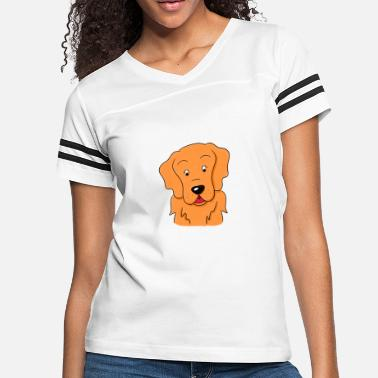 d25038a9 Golden Retriever Dog Drawing cute Gift idea - Women's Vintage Sport T