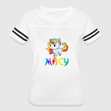 Macie Birth Macy Unicorn - Women's Vintage Sport T-Shirt