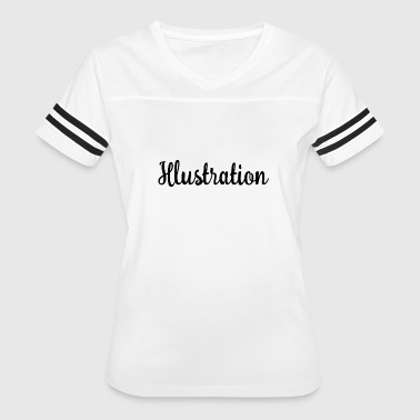 Illustrator Illustration - Women's Vintage Sport T-Shirt