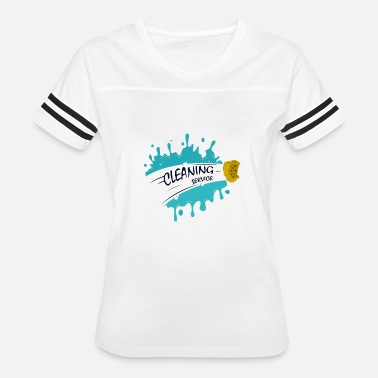 Cleaning Lady cleaning service - Women's Vintage Sport T-Shirt