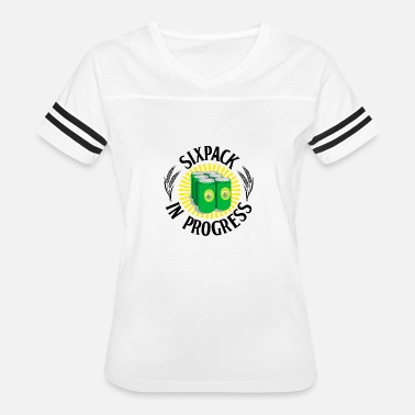 Sixpack Beer Sixpack in Progress Beer Can - Women's Vintage Sport T-Shirt