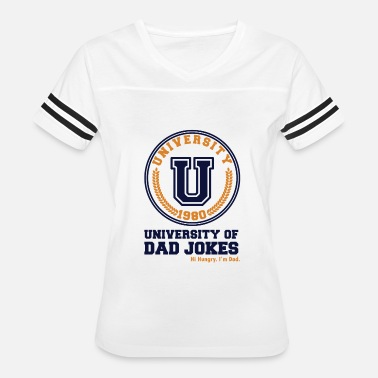 Best Dad Jokes University of Dad Jokes - Women's Vintage Sport T-Shirt
