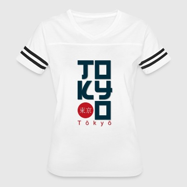 Tokyo t-shirt and apparel design effect print, - Women's Vintage Sport T-Shirt