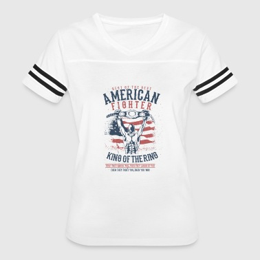 King Of Fighters American Fighter - King of the Ring - Women's Vintage Sport T-Shirt