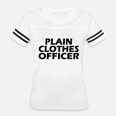 Officer Clothes Plain clothes office - Women's Vintage Sport T-Shirt