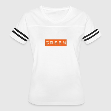 Rainbow White House Green Text on Orange - People will freak out! - Women's Vintage Sport T-Shirt