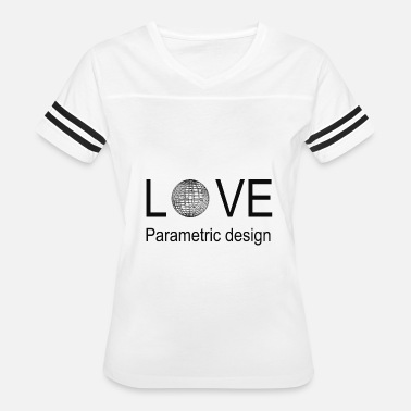 love parametric design - Women's Vintage Sport T-Shirt