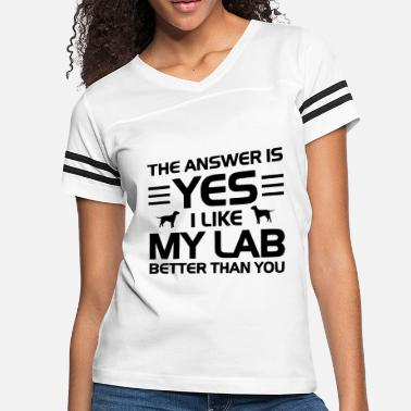 Yess the answer is yess - Women's Vintage Sport T-Shirt