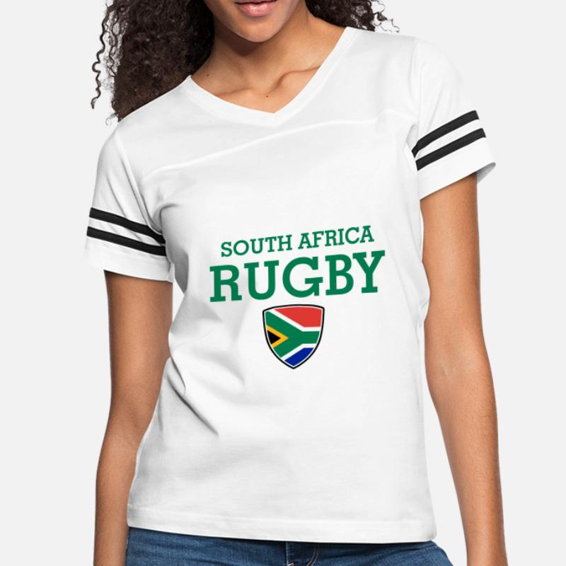 97674bd534a Shop South Africa Rugby T-Shirts online | Spreadshirt