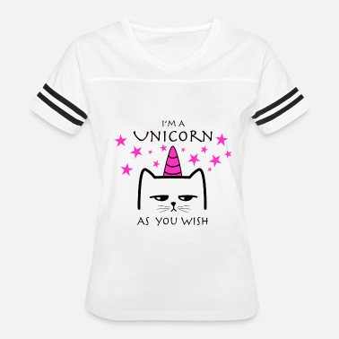 Unicorn Cat CAT CAT Unicorn - Women's Vintage Sport T-Shirt