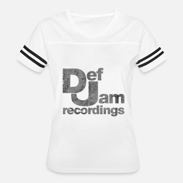 Def Jam Records Def Jam Recordings - Women's Vintage Sport T-Shirt