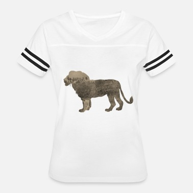 Jungle Sportswear Silhouette Jungle Series Lion - Women's Vintage Sport T-Shirt