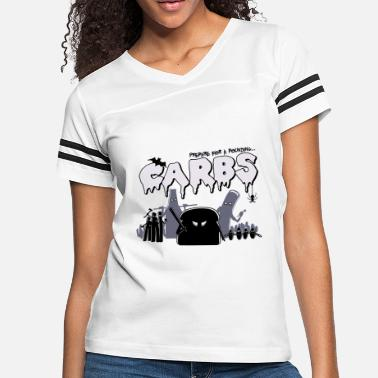 Carbs Anime Carbs are Evil - Women's Vintage Sport T-Shirt