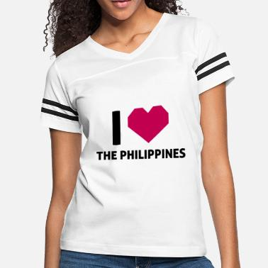 Philippines I Love The Philippines - Women's Vintage Sport T-Shirt