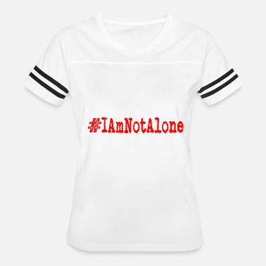 Clue i am not alone - Women's Vintage Sport T-Shirt