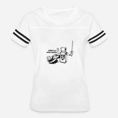 A-salt-with-a-deadly-weapon-t-shirt A Salt Deadly Weapon T Shirt White Snow Swatch - Women's Vintage Sport T-Shirt