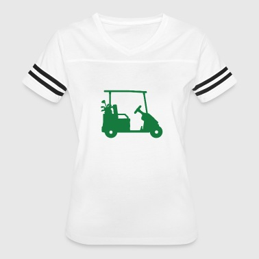 Golf Woman Funny Golf Carts funny tshirt - Women's Vintage Sport T-Shirt