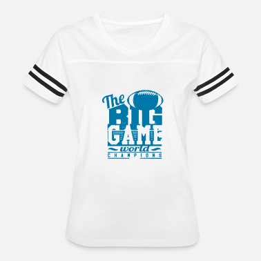 World Gaming The Big Game World - Women's Vintage Sport T-Shirt