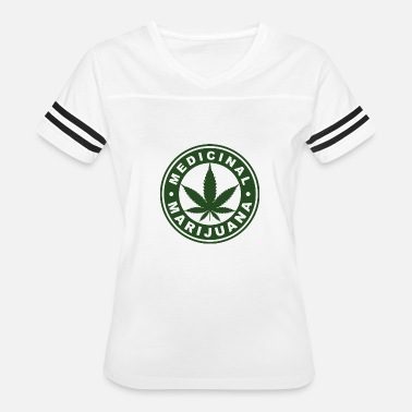 Hemp Medical Marijuana - Hemp - Cannabis - 420 Logo - Women's Vintage Sport T-Shirt