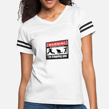 d301ec96 Warning If Zombies Chase Us Funny T shirt - Women's Vintage Sport