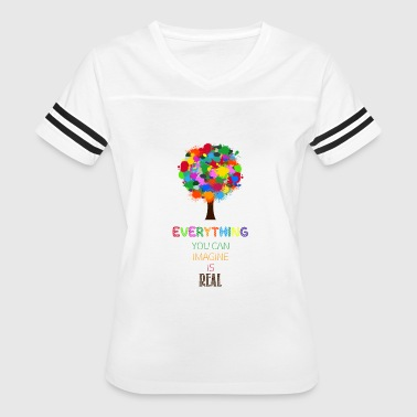 Imagine Life imagine - Women's Vintage Sport T-Shirt
