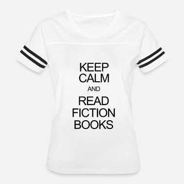 Keep Calm Actor Fiction book - keep calm and read fiction books - Women's Vintage Sport T-Shirt