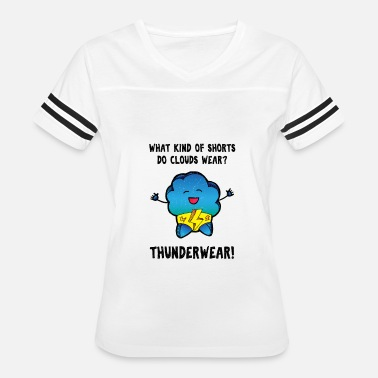 Meteorology Funny Cloud Meteorology Shirt - Women's Vintage Sport T-Shirt