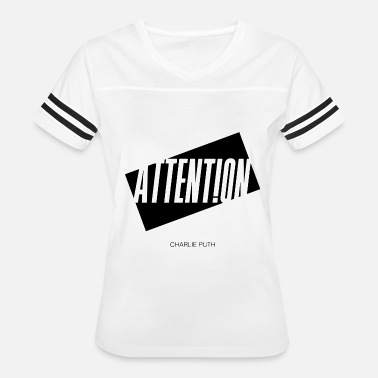 Charlie Puth Attention Charlie Puth - Women's Vintage Sport T-Shirt