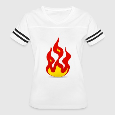 Fire - Women's Vintage Sport T-Shirt