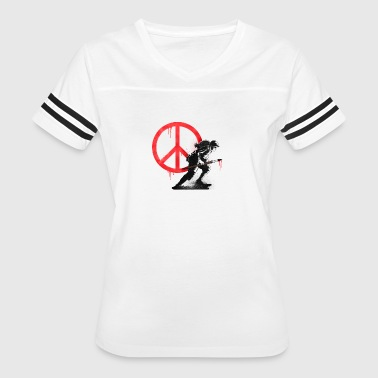 Weapon Love Art Is A Weapon - Women's Vintage Sport T-Shirt