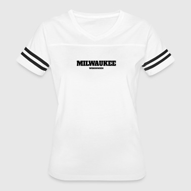 Milwaukee Wisconsin WISCONSIN MILWAUKEE US EDITION - Women's Vintage Sport T-Shirt