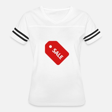 Tag Sale Price Tag - Women's Vintage Sport T-Shirt