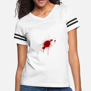 Gunshot Wound Blood Spatter From A Bullet Wound - Women's Vintage Sport T-Shirt