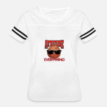 Adult Attitude Attitude is Everything - Women's Vintage Sport T-Shirt