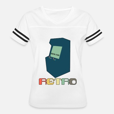Arcade Styles Retro Arcade Style Gaming - Women's Vintage Sport T-Shirt