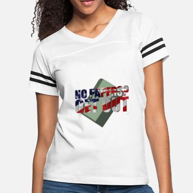 ANTI-ILLEGAL IMMIGRATION APPAREL - Women's Vintage Sport T-Shirt