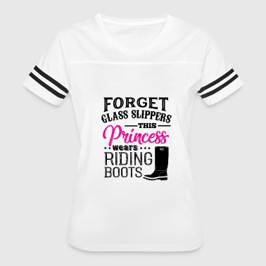 Forget The Slippers Forget Glass Slippers Princess - Women's Vintage Sport T-Shirt