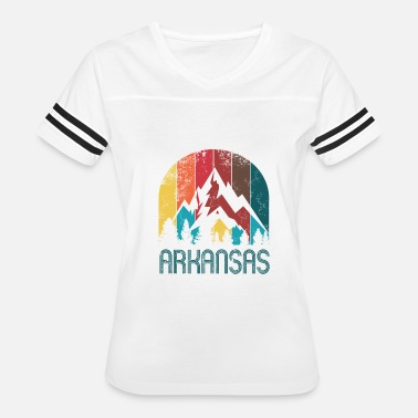 Arkansas Razorbacks Funny Retro Arkansas Design for Men Women and Kids - Women's Vintage Sport T-Shirt