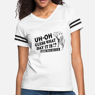 Hump Day Hump Day funny sayings - Women's Vintage Sport T-Shirt