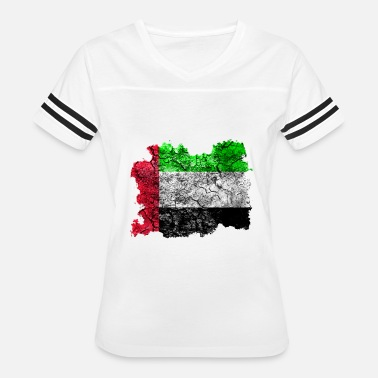 United Arab Emirates United Arab Emirates Vintage Flag - Women's Vintage Sport T-Shirt