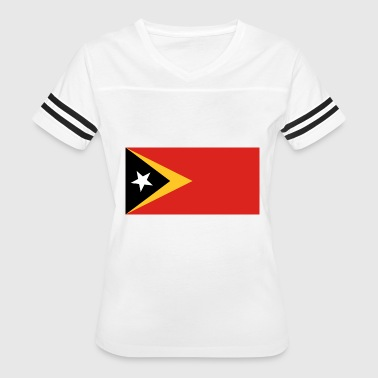 East Timor country flag love my land patriot - Women's Vintage Sport T-Shirt