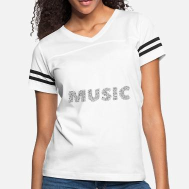 Js Fashion Butique Music is my life - Women's Vintage Sport T-Shirt
