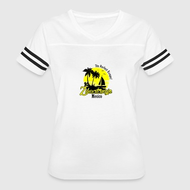 Mexico Geek ZIHUATANEJO MEXICO - Women's Vintage Sport T-Shirt