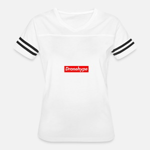DRONEHYPE Box Logo - Drone BOGO Women s Polo Shirt  89bf0f69c