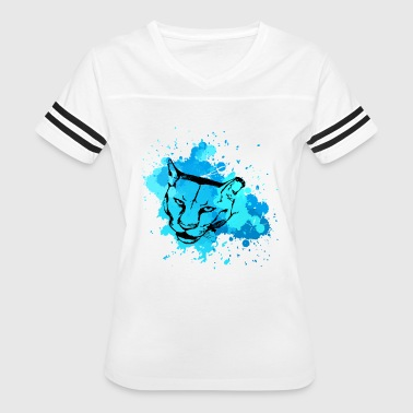 Cougars Cougar Colorful Shirt - Women's Vintage Sport T-Shirt