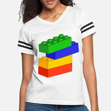 Block Building Blocks - Women's Vintage Sport T-Shirt